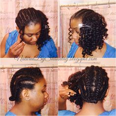 Growth After Crochet Marley Braids ~ New Blog Post #NaturalHair #ProtectiveStyle #NaturalsByShauntay  #before http://naturalbyshauntay.blogspot.com/2015/05/growth-after-marley-braids.html