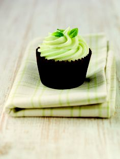 Chocolate & Peppermint Cupcake