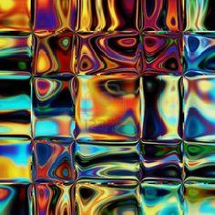 umělecké sklo barevné art stained glass