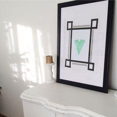 Washitape Washi Tape, Mirror, Frame, Furniture, Home Decor, Picture Frame, A Frame, Interior Design, Frames