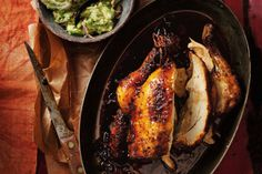 Golden spiced chicken will have your mouth watering in this South American chicken recipe.