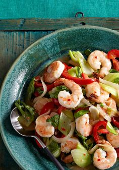 Shrimp & Bok Choy Stir-Fry – Homemade Shrimp & Bok Choy Stir-Fry? Sure, why not? It's easy, requires no special ingredients and can be on the table in just 20 minutes.