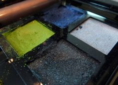 """""""I would definitely say not to use all colours at once,"""" says Lloyd Simmonds, makeup artist and creative director of YSL makeup. [YSL Fall 2013 makeup_Palette City Drive_Arty]"""
