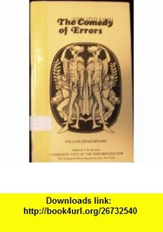 The Comedy of Errors William Shakespeare, Howard Sackler, Alec McCowen, Anna Massey, Harry H. Corbett, Finlay Currie ,   ,  , ASIN: B004CT5PXM , tutorials , pdf , ebook , torrent , downloads , rapidshare , filesonic , hotfile , megaupload , fileserve