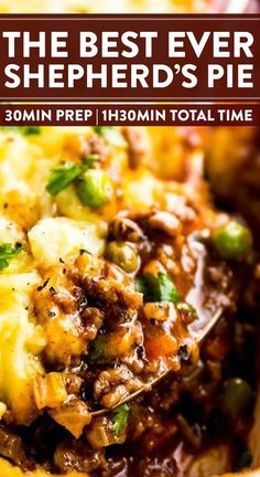 Healthy Ground Beef, Ground Beef Recipes For Dinner, Dinner Recipes, Sos Recipe Ground Beef, Homemade Shepherd's Pie, Shepherds Pie Rezept, Gordon Ramsey, Carne Picada, Easy Casserole Recipes