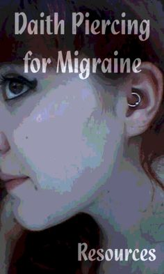 Daith Piercing for Migraine - Resources