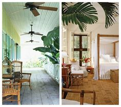 Tropical British Colonial Style