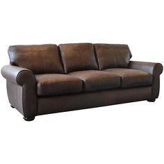 Buy John Lewis Madison Grand Leather Sofa, Colorado Online at johnlewis.com
