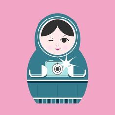 This made me laugh. Print-Matryoshka (nesting doll)-Pictures. $20.00, via Etsy.