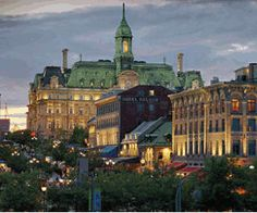 Old Port, Montreal. Many dates had here. <3 Plan to go back as grown up adults someday.