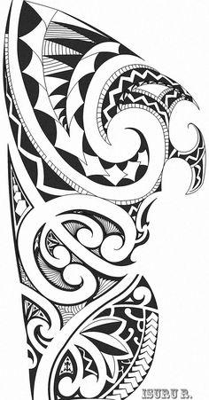 Tattoo Maori Polinesia Kirituhi Tatuagem Polynesian Quer - Soles-maories