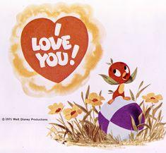 I love you, too, little Orange Bird!