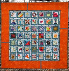 2015 Raffle Quilt, Westside Quilters' Guild (Oregon).  Designed by Mona Woo.  Quilted by AnnMarie Cowley.