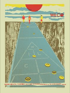We played shuffleboard during recess in elementary school