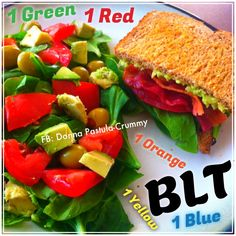 21 Day Fix Lunch or Dinner. BLT