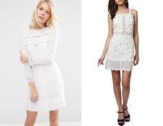 White Dresses For Every Kind Of White Party Out There - Wheretoget