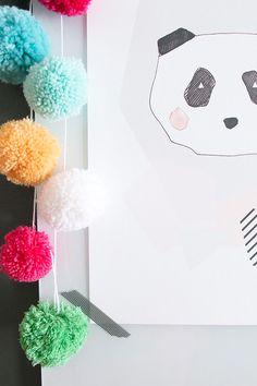 Sort of pink.: Kaunis Decoration & Panda Blush.