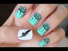 Easy Dreamcatcher Nail Art