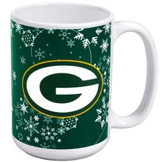 Green Bay Packers Holiday Mug at the Packers Pro Shop http://www.packersproshop.com/sku/2004197245/