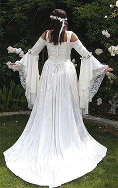 Gwendolyn Fairy Fantasy Medieval Wedding Gown