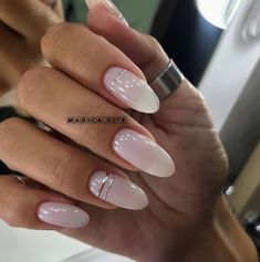 Uploaded by princessinspo-. Find images and videos about beauty, nature and nails on We Heart It - the app to get lost in what you love. Opi Gel Nails, May Nails, Hair And Nails, Glitter Nails, White Almond Nails, White Nails, Perfect Nails, Gorgeous Nails, Best Acrylic Nails