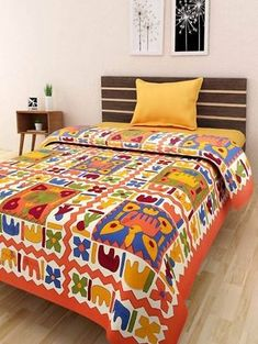 a46e071ac0 Pure Cotton Jaipuri Traditional Single Bedsheet Formal Shirts, Casual  Shirts, Double Bed Sheets,
