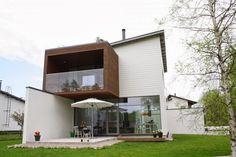 betonielementtitalo - Villa Sundeck