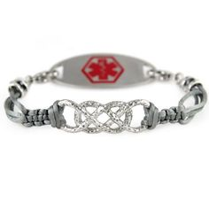 Ashley Medical ID Bracelet