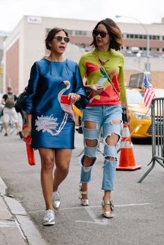 #NYFW Street style [Photo: Liz Devine]
