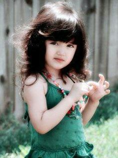 Girl face innocent young sweet