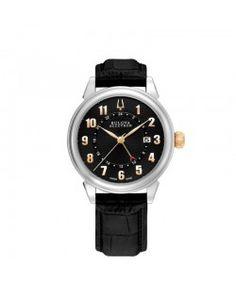 Bulova Accutron Gemini Automatic Watch 65B145 Bulova Accutron, Bulova Watches, Automatic Watch, Gemini, Twins, Twin, Gemini Zodiac