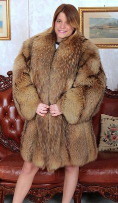 Kleidung WaschbÄr Pelzmantel Pelz Raccoon Fur Coat Mantel Fourrure De Raton Laveur M-l