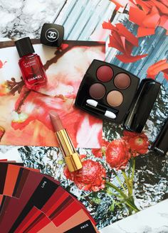 The Chanel Le Rouge Collection #CocosTeaParty