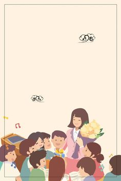 Kids Background, Background Pictures, Teachers Day Drawing, Teacher Wallpaper, Teachers Day Poster, Photo Frame Design, Elegant Birthday Party, School Frame, Background Powerpoint