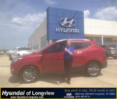 Congratulations to Marian Wafer on your #Hyundai #Tucson purchase from Luis  Ramos  at Hyundai of Longview! #NewCar