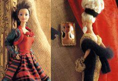 Barbie i festtøj til jul og nytår - Skatkisten - Håndarbejde og strikkeopskrifter - Familie Journal