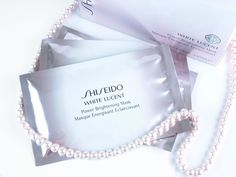 The Happy Sloths: Shiseido White Lucent Power Brightening Mask: Review