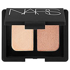 Found my wedding makeup!  NARS - Duo Eyeshadow in Silk Road - icy peach pink/ rose gold with gold flecks  #sephora