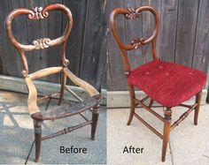 Restoration of a old Victorian chair