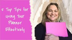 5 Top tips for using your planner more effectively  #planning #planners #productivity Say Hi, Productivity, Planners, Social Media, Sayings, Videos, Tips, Youtube, Lyrics
