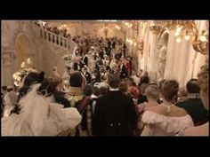 Finale of the Russian Ark, a film lasting 96 minutes in one shot. A ghost passes through the rooms of the Hermitage museum containing 300 years of Russian history. Filmed successfully on the third take.