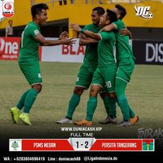 Hasil Pertandingan Bola  PSMS Medan VS Persita Baseball Cards, Sports, Hs Sports, Excercise, Sport, Exercise