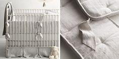 Washed Organic Linen Nursery Bedding Collection | Restoration Hardware Baby & Child