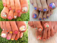 Pedicure Nail Art Designs for Summer hair-make-up-nails