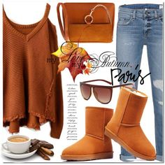 How To Wear Fall color Outfit Idea 2017 - Fashion Trends Ready To Wear For Plus Size, Curvy Women Over 20, 30, 40, 50