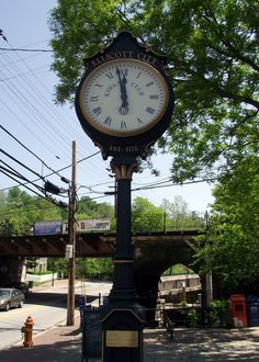 Ellicott City clock