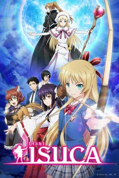 Crunchyroll - ISUCA Full episodes streaming online for free Tv Anime, Mega Anime, Super Anime, Anime Watch, Anime Guys, Best Action Anime, Anime Chart, Anime Reccomendations, Comedy