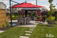 Front Porch Deck, Gazebo, Raised Patio, Parasol, Decks And Porches, Outdoor Living, Outdoor Decor, Construction, Garden Landscaping