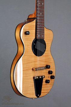 New Rick Turner Model 1 Standard Featherweight Maple w/Piezo