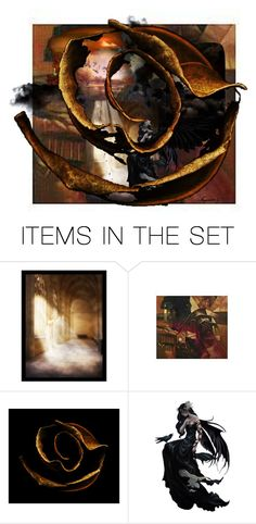 """""""Fairwell"""" by evachasioti ❤ liked on Polyvore featuring art and love"""